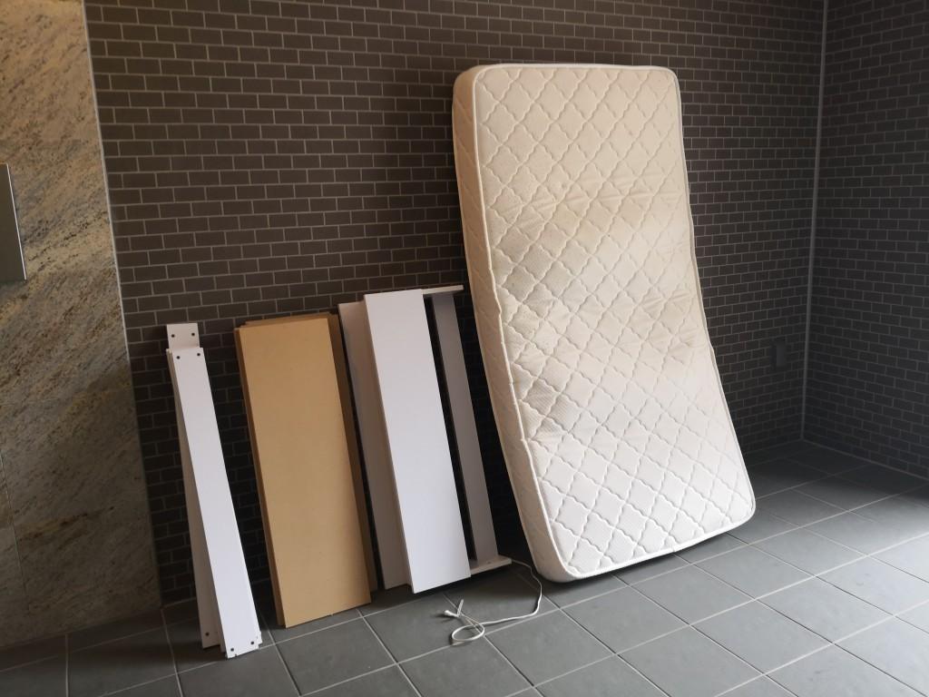 【大阪市城東区】シングルベッドの回収・処分ご依頼 お客様の声