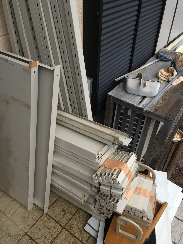 【浜松市北区】スチール棚・自転車・棚の回収・処分 お客様の声