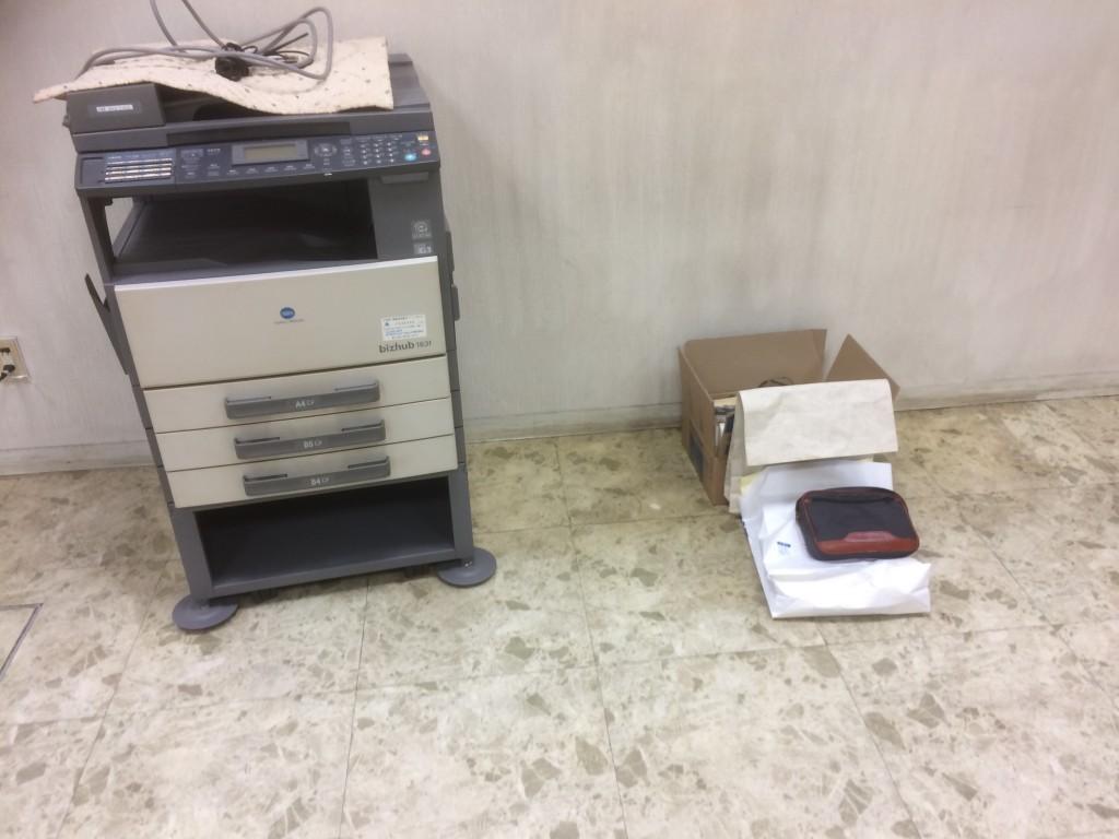 【山県市】プリンター複合機の出張不用品回収・処分ご依頼 お客様の声
