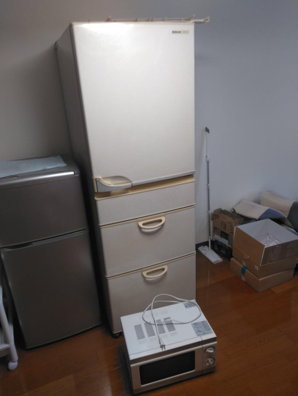 【宇和島市】冷蔵庫、電子レンジの不用品回収処分ご依頼 お客様の声