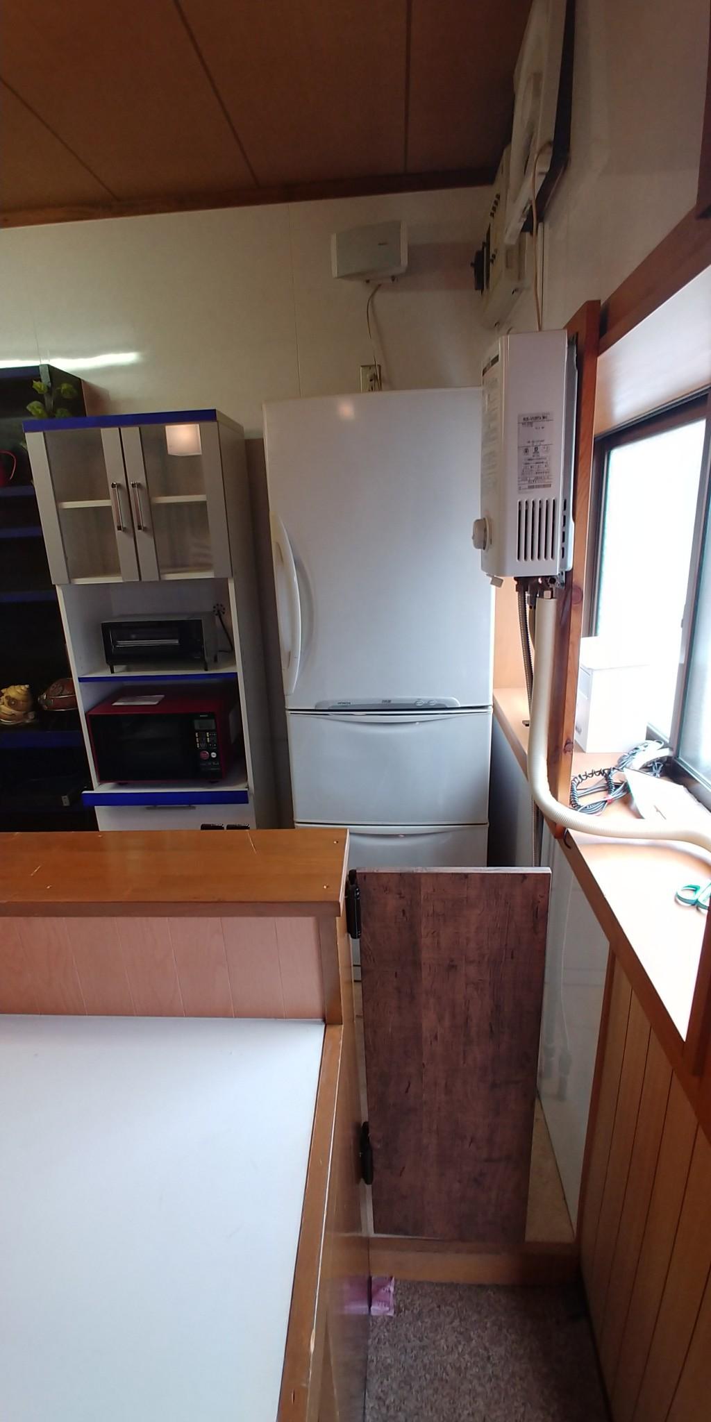 【富山市稲荷町】冷蔵庫とこたつの不用品回収処分ご依頼 お客様の声