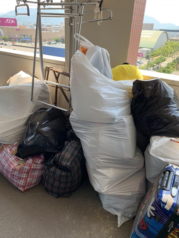 【糟屋郡粕屋町と大野城市】2か所での出張不用品回収・処分ご依頼
