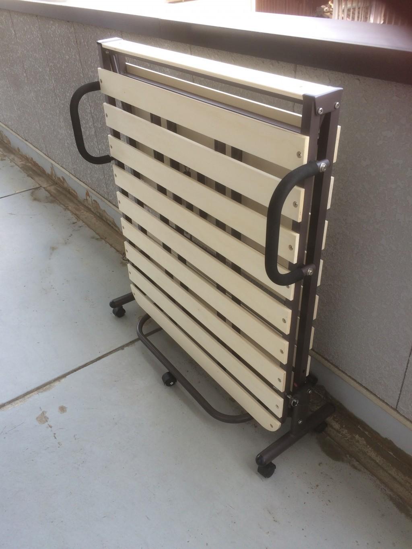 【大垣市世安町】折り畳みベッド、自転車、椅子の出張不用品回収・処分ご依頼