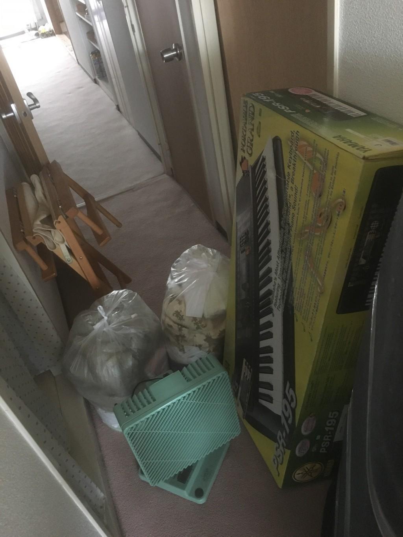 【京都市北区】棚やキーボードなど不用品回収処分ご依頼 お客様の声