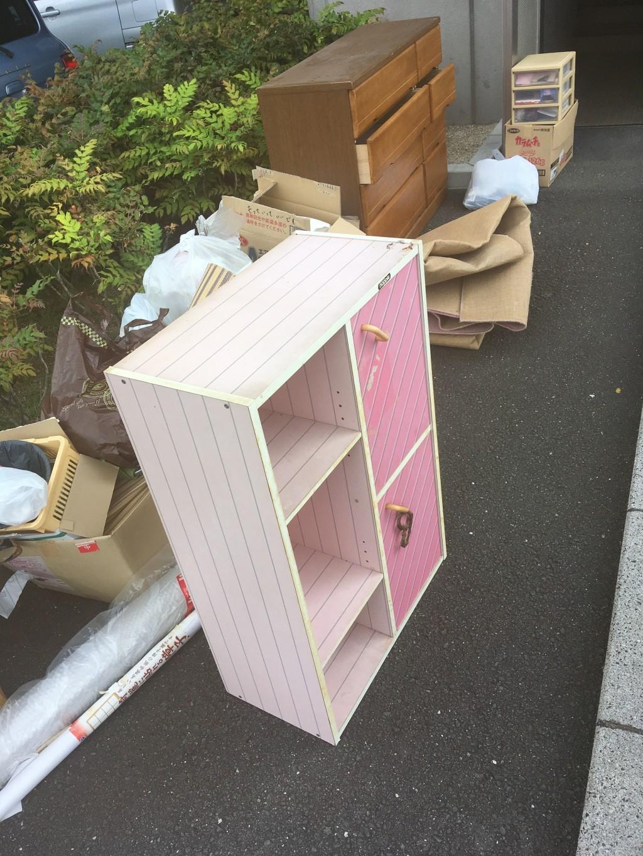 【浜松市東区】タンス、ダンボールなどの出張不用品回収・処分ご依頼