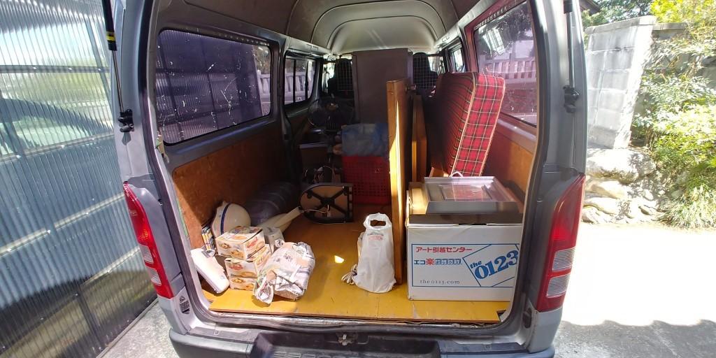 【富山市】ベッド、机などの回収・処分 お客様の声