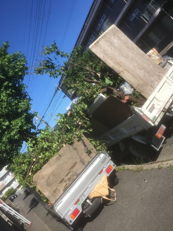【熊取町】庭木の剪定伐採 細々したものの出張不用品回収・処分ご依頼 お客様の声