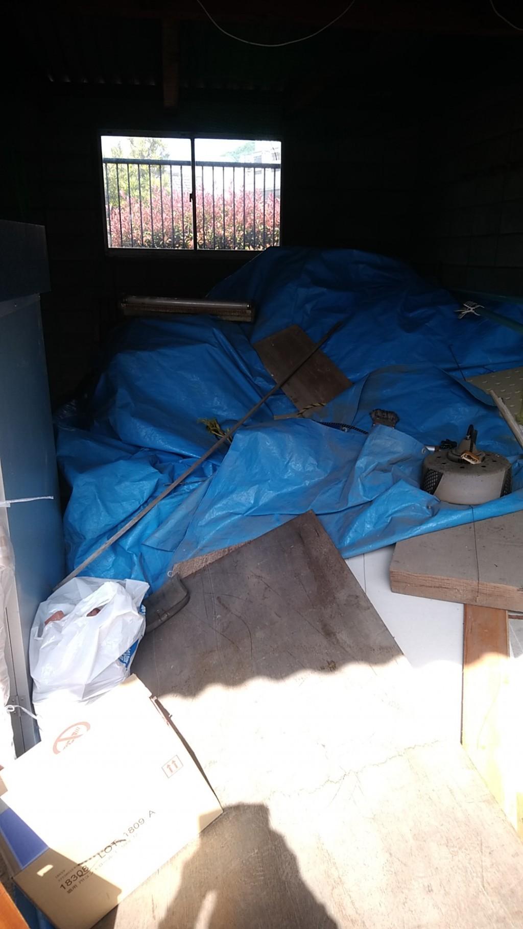 【泉崎村】木材などガレージの不用品回収・処分
