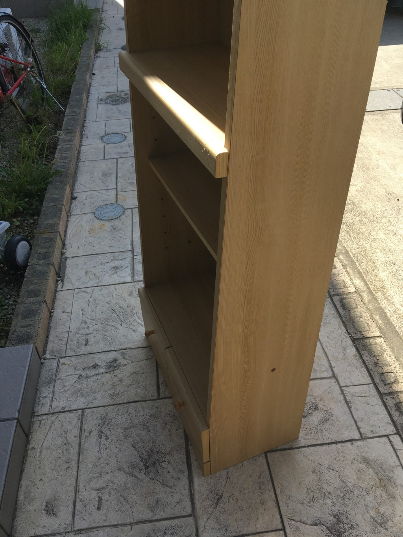 【浜松市中区】本棚1点の回収・処分ご依頼 お客様の声