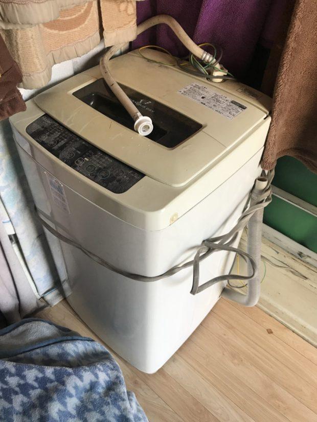 【練馬区】洗濯機の回収 お客様の声