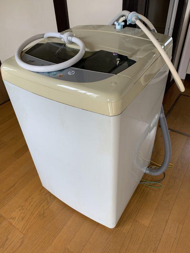 【韮崎市穴山町】エアコン、洗濯機の取り外し・回収 お客様の声
