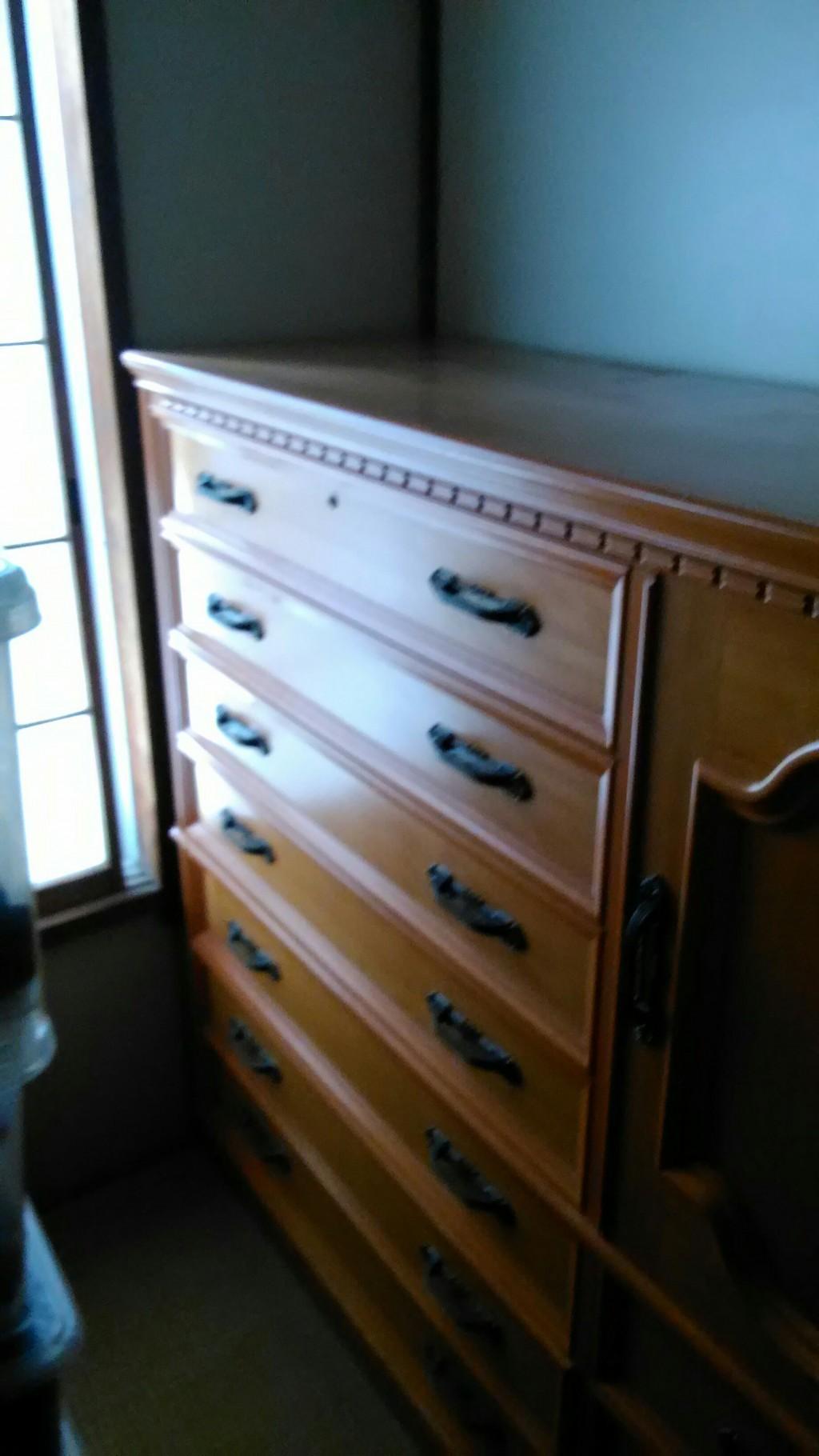 【富山市下赤江町】大型家具の回収・処分ご依頼 お客様の声