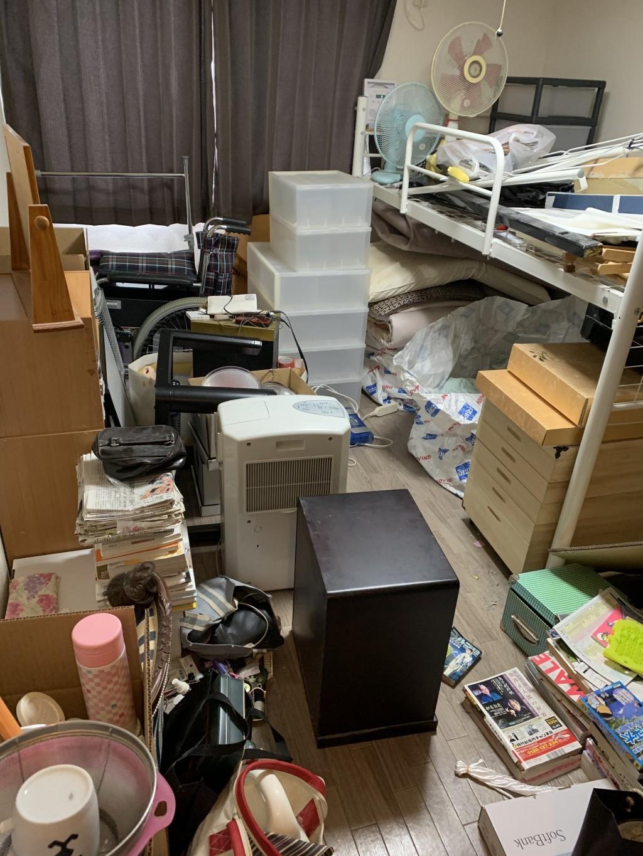 【中央市山之神】アパート1部屋分位の出張不用品回収・処分ご依頼