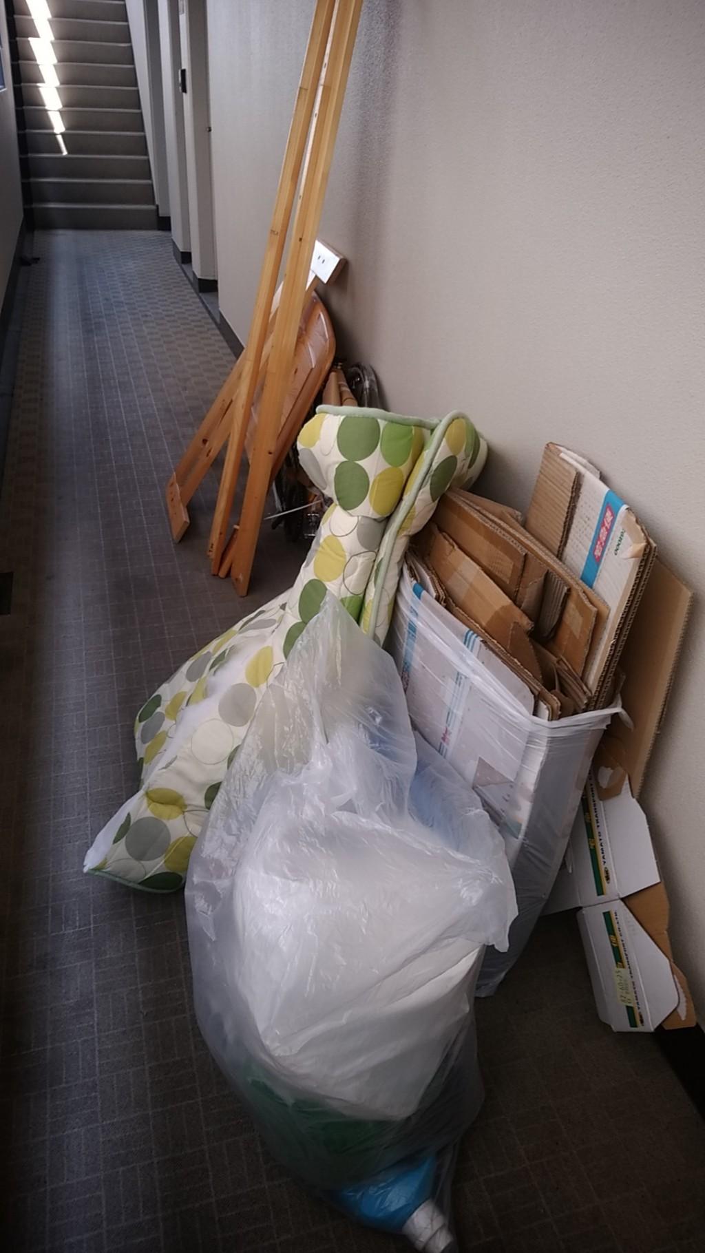 【徳島市山城西】布団・ベッドなど即日回収でご満足いただけました