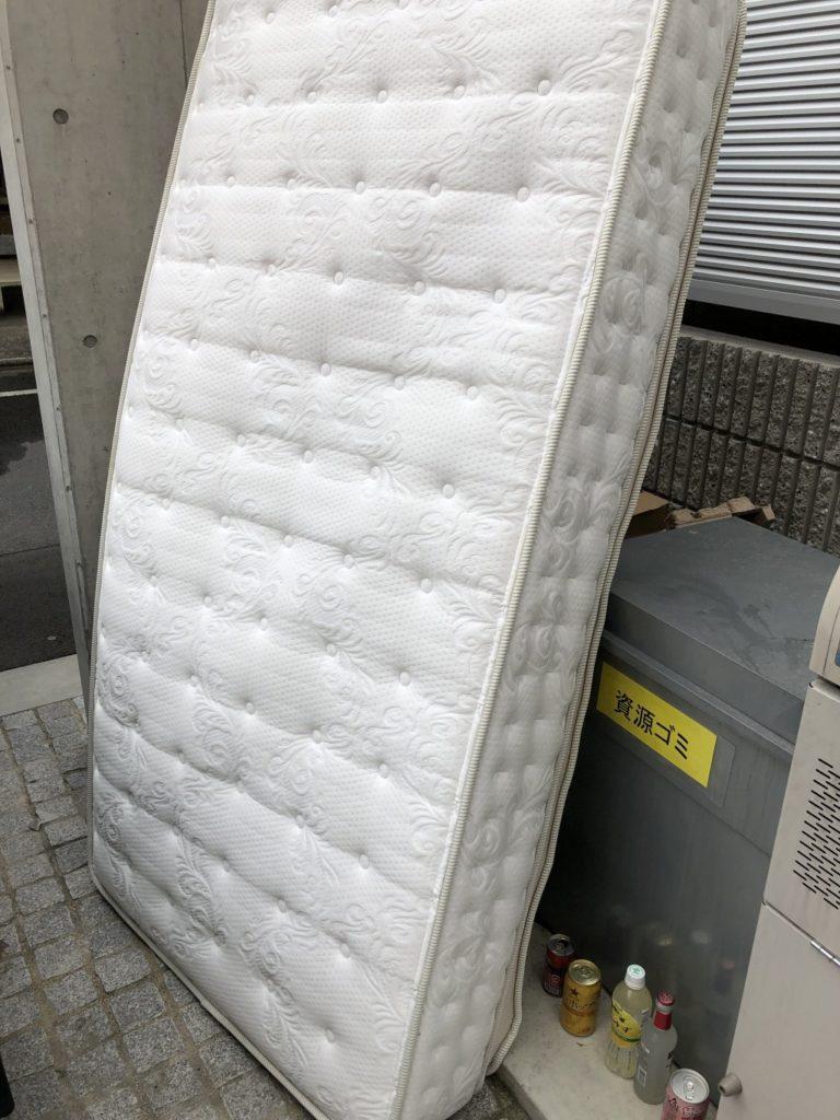 【京都市南】シングルベッドの出張回収・処分ご依頼 お客様の声