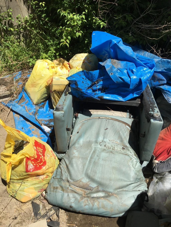 【新潟市東区】外に置いてある不用ごみ回収・処分ご依頼 お客様の声
