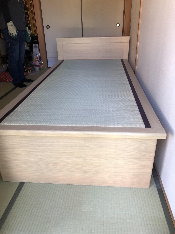 【奈良市】シングルベッド回収処分ご依頼 お客様の声