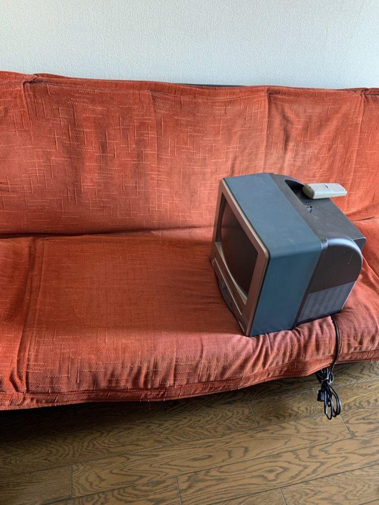 【福岡市早良区】テレビとソファーベッドの出張回収・処分ご依頼