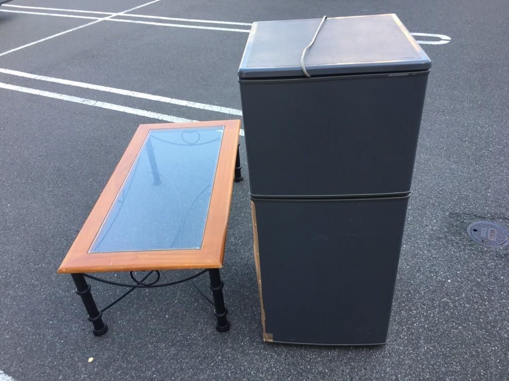 【鹿児島市城南町】冷蔵庫・ローテーブルの回収・処分 お客様の声