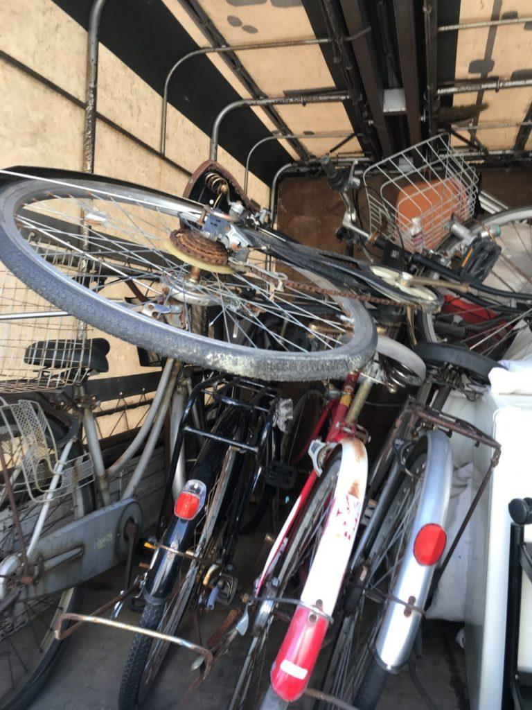 【金沢市京町】自転車5台の出張回収・処分ご依頼 お客様の声