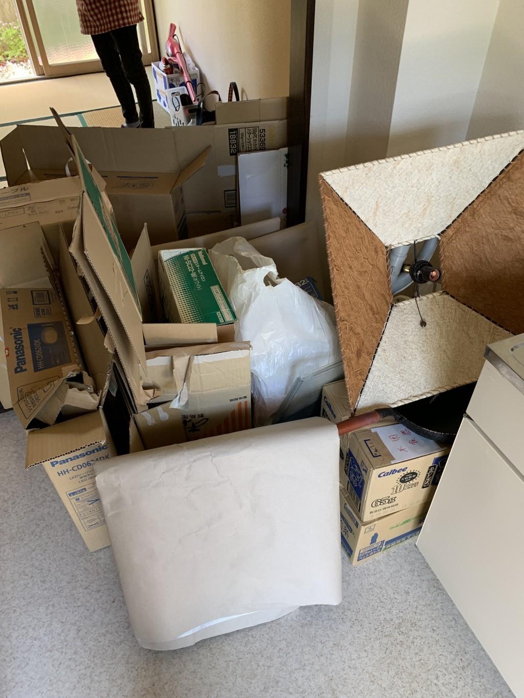 【北上市】引越しに伴う不用品回収・処分ご依頼 お客様の声