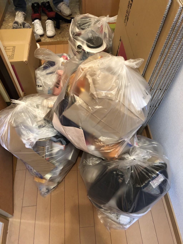 【大分市千代町】家庭で出た不用ゴミの回収・処分 お客様の声