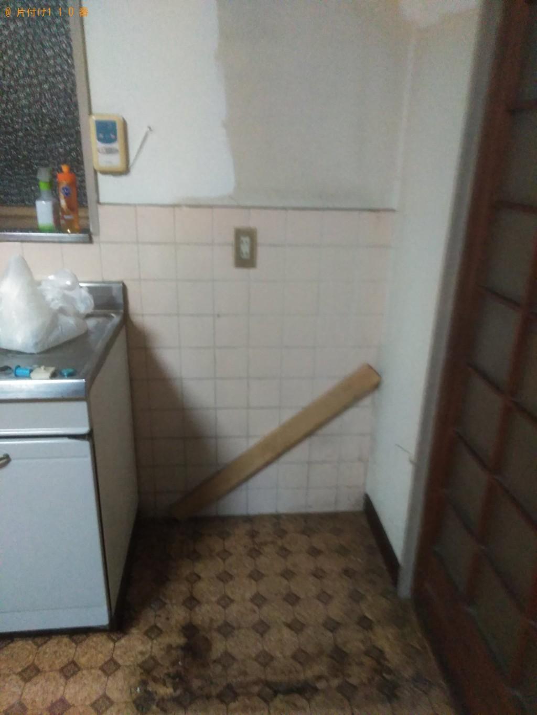 【松山市西垣生町】冷蔵庫と洗濯機回収のご依頼 お客様の声