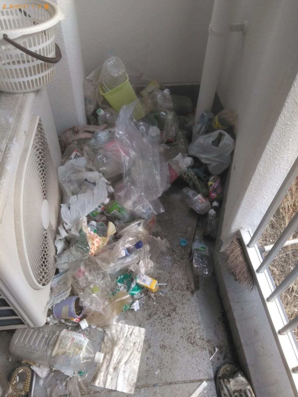 【松山市】家庭ゴミ回収と部屋の片付けのご依頼 お客様の声