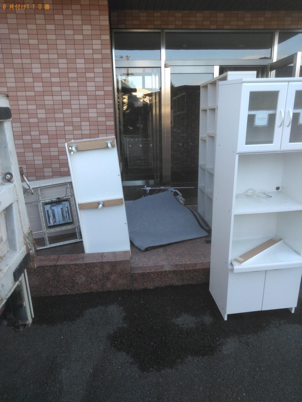 【松山市南久米町】テレビ台やこたつなど家具類回収 お客様の声