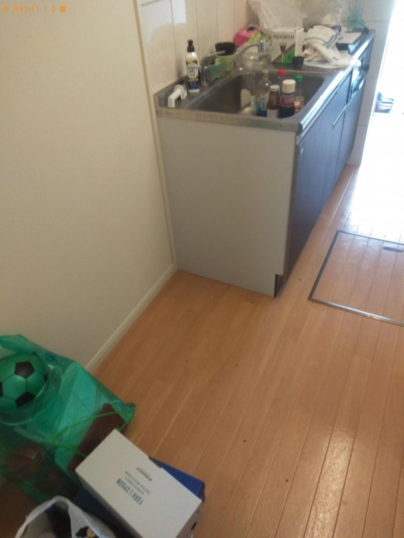 【今治市北日吉町】冷蔵庫、洗濯機、ベッド回収のご依頼 お客様の声