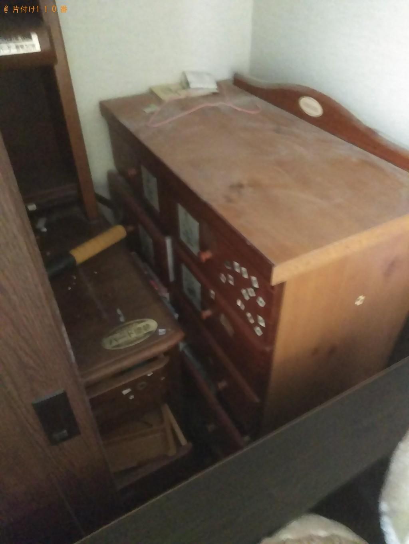 【松山市平井町】テレビや学習机など家具家電回収 お客様の声