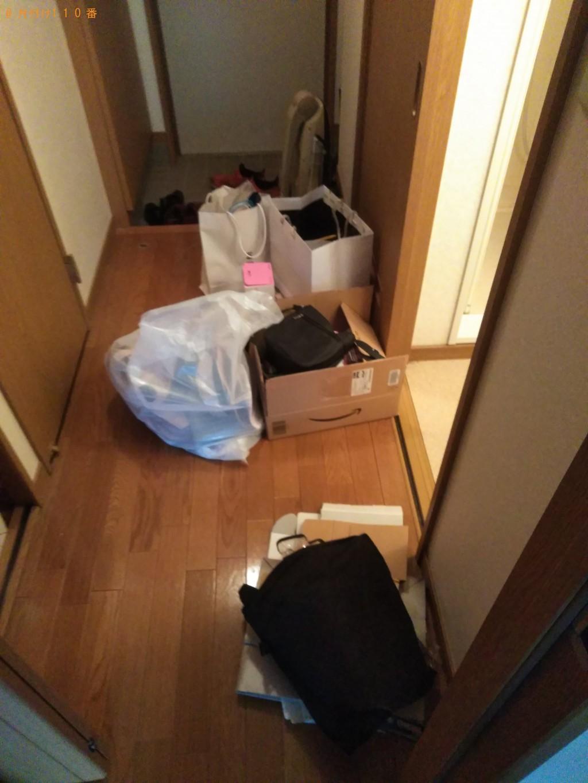 【松山市】電子レンジやパイプベッドなど家具家電回収 お客様の声