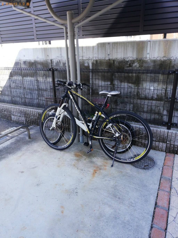 【宇部市】大人用自転車1台回収処分ご依頼 お客様の声