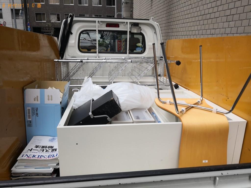 【大阪市西区】で軽トラック1台程度の不用品処分ご依頼 お客様の声