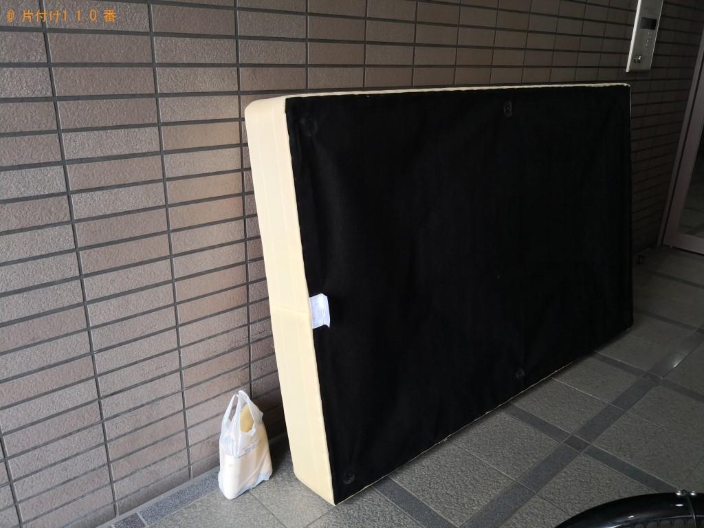 【大阪市西区】セミダブルベッド回収処分ご依頼 お客様の声