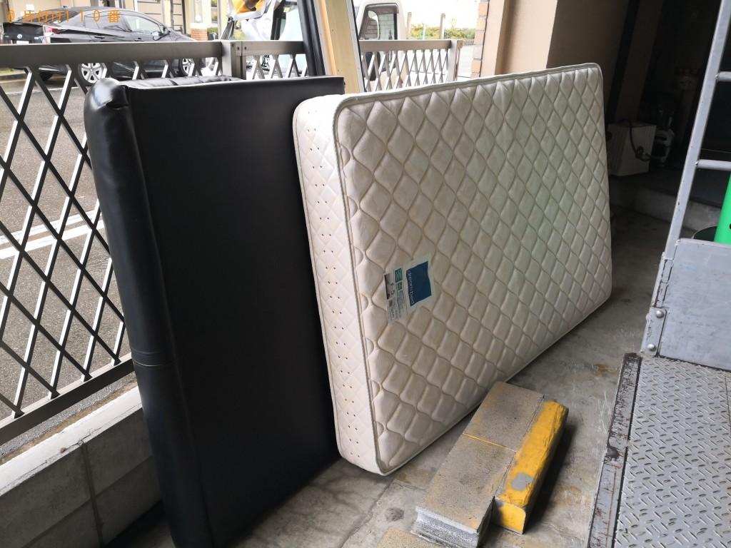 【大阪市此花区】ダブルベッドの不用品回収処分 お客様の声