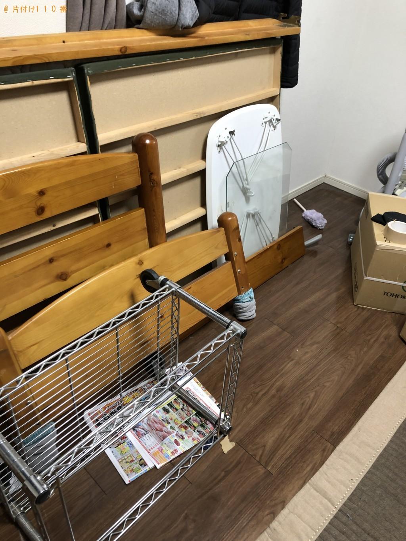 【京都市上京区】シングルベッドの回収・処分ご依頼 お客様の声