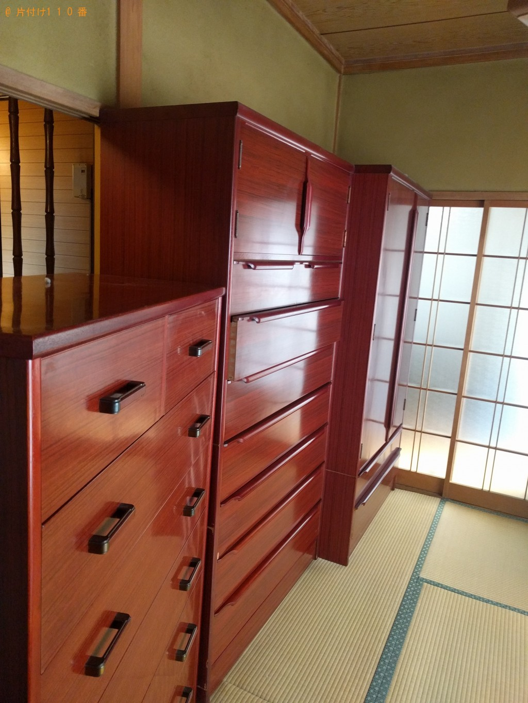 【下関市幡生本町】タンスなどの大型家具回収・処分ご依頼 お客様の声