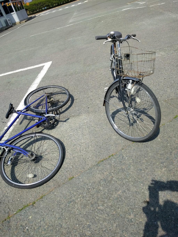 【芦屋町】自転車二台の回収 お客様の声
