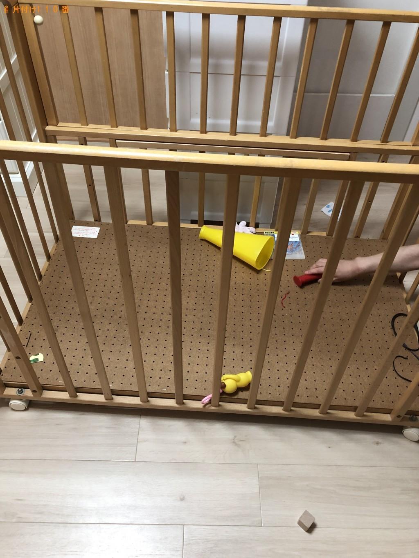 【大阪市】ベビーベッド、ベビーチェアの出張不用品回収・処分ご依頼