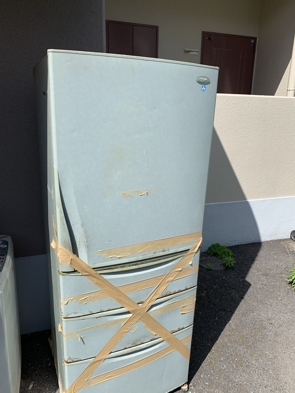 【大津市】冷蔵庫・洗濯機の回収・処分ご依頼 お客様の声