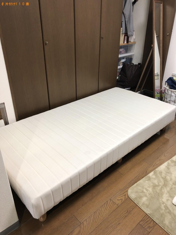 【大分市】シングルベッドの出張不用品回収・処分ご依頼