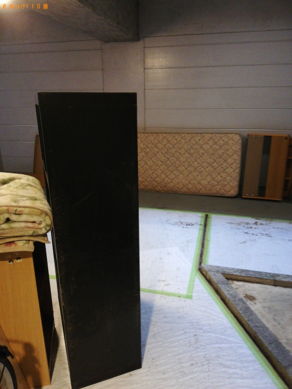 【土浦市東真鍋町】本棚、ベッド等の回収・処分ご依頼 お客様の声