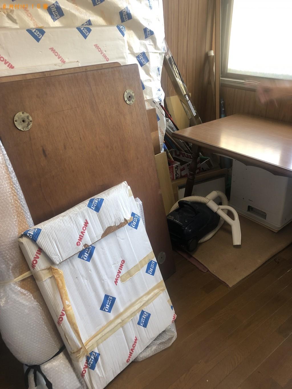 【北九州市門司区】ローテーブルなどの出張不用品回収・処分ご依頼