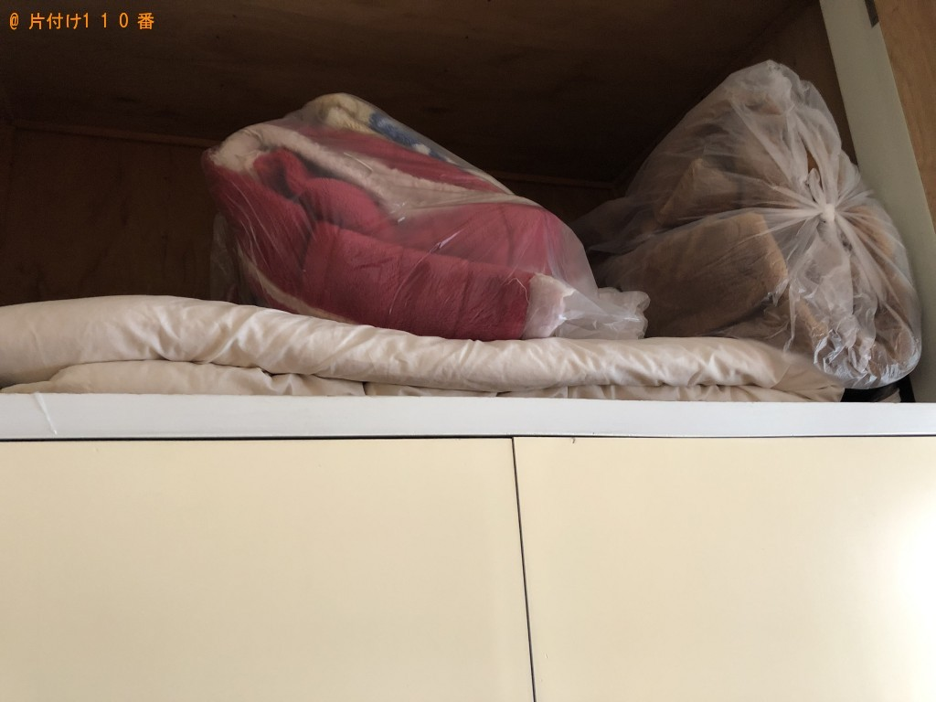 【大分市錦町】軽トラック1台程度の出張不用品回収・処分ご依頼