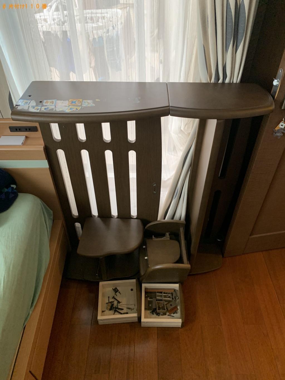 【京都市伏見区】エレクトーン、学習机などの出張不用品回収・処分ご依頼