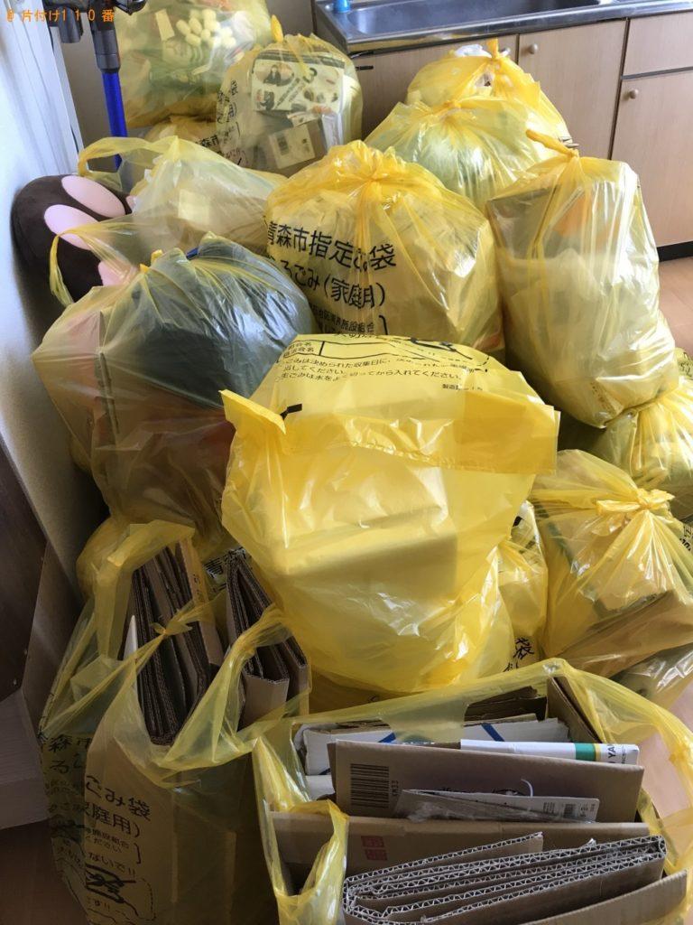 【青森市】大量のゴミ袋の出張不用品回収・処分ご依頼