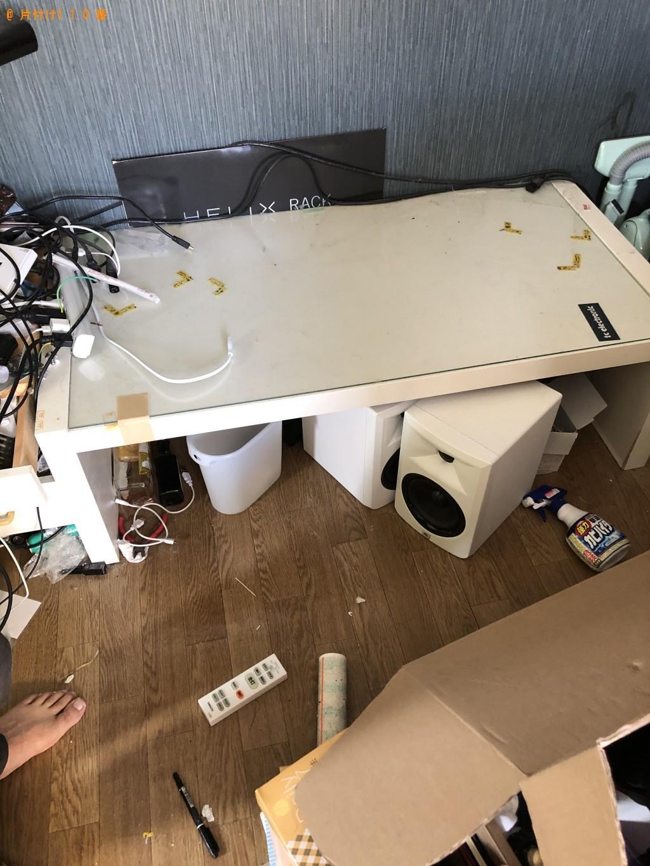 【京都市北区】冷蔵庫、洗濯機、テーブルなどの出張不用品回収・処分ご依頼