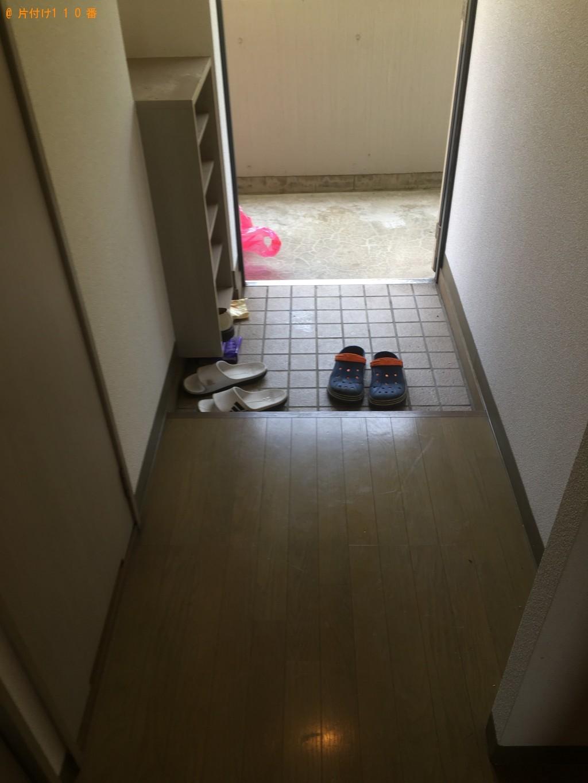【下関市】冷蔵庫、洗濯機などの出張不用品回収・処分ご依頼