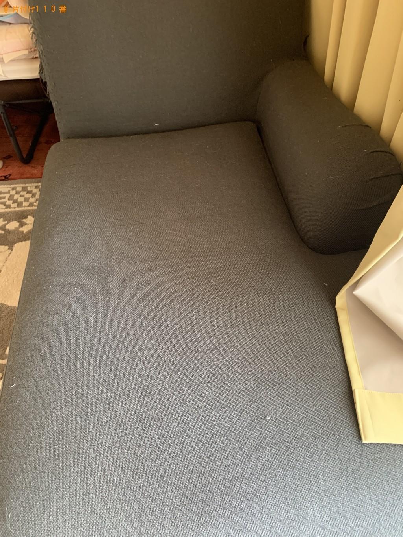 【北九州市小倉北区】3人掛けソファーの出張不用品回収・処分ご依頼
